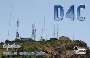 Cape Verde during IARU R1 50Mhz contest on June20-21