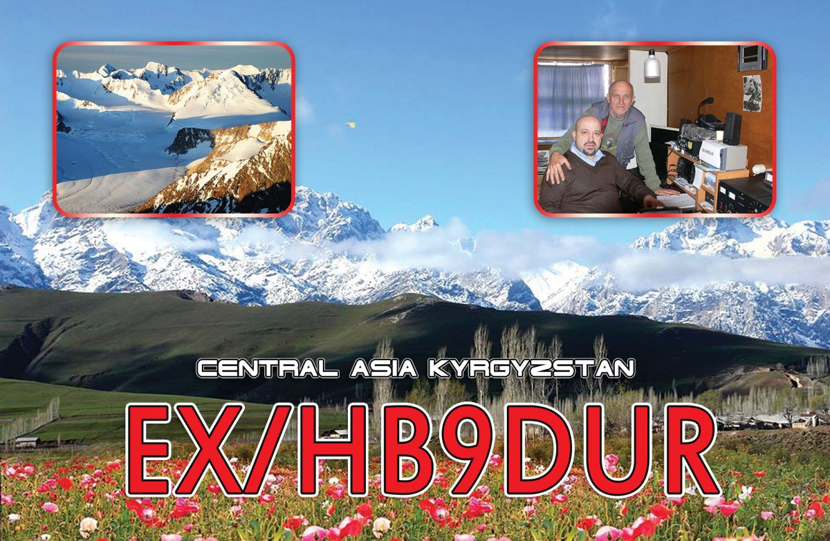 EX/HB9DUR qrv on HF from Kyrgyzstan