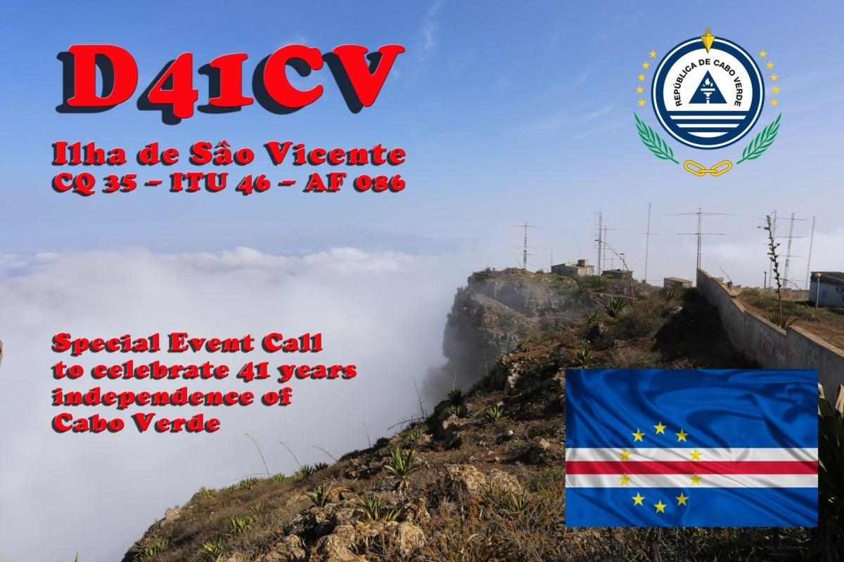 Evenigs spent in QSL'ing (D41CV)